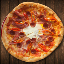 8. Pizza Ungherese